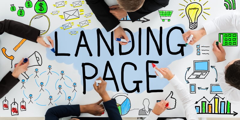 What are landing pages?